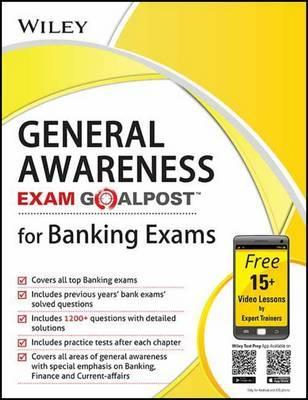 Wiley's General Awareness, Exam Goalpost, for Banking Exams