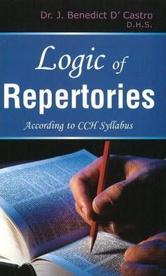 Logic of Repertories  According to CCH Syllabus