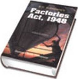 Factories Act 1948 Book