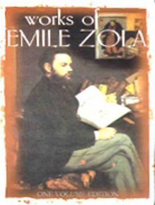 Works of Emile Zola Cover Image