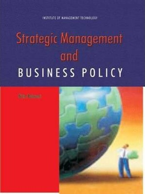 Business Policy And Strategic Management Book