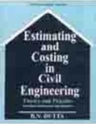 Dutta book bn costing estimating by pdf and