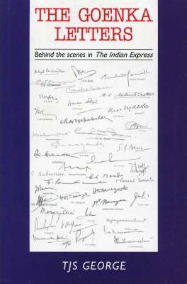 The Goenka Letters  Behind the Scenes in the Indian Express