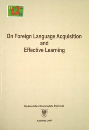 On Foreign Language Acquisition and Effective Learning