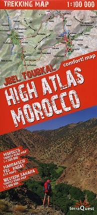 Morocco and High Atlas laminated 2014