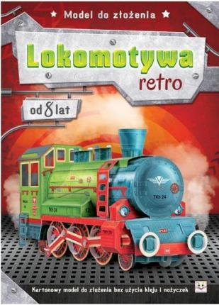 Model do złożenia Lokomotywa retro