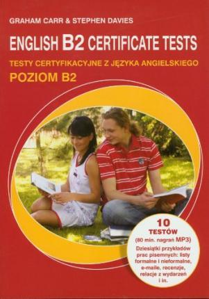English B2 Certificate tests z plyta CD