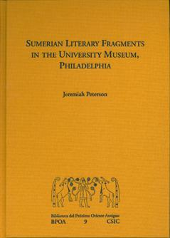 Sumerian Literary Fragments in the University Museum, Philadelphia