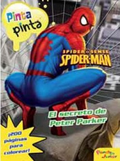 Spiderman. Pinta Pinta