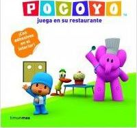 Pocoyo juega en su restaurante / Pocoyo plays in his restaurant