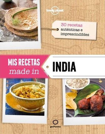 Lonely Planet MIS Recetas Made in India