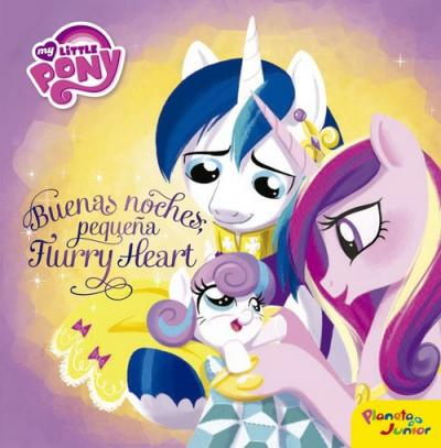 My Little Pony. Buenas noches, pequeña Flurry Heart