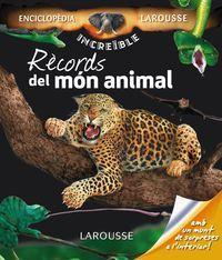 Rècords del món animal