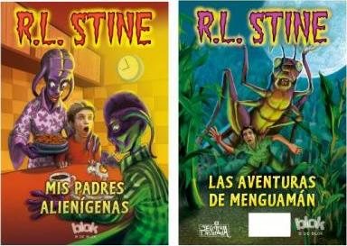 MIS Padres Alienigenas & Las Aventuras de Menguaman / My Alien Parents & Adventures of Shrinkman