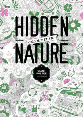 Hidden Nature Colouring Poster