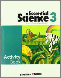 Essential Science 3 Activity Book