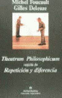 Theatrum Philosophicum - Repeticion y Diferencia