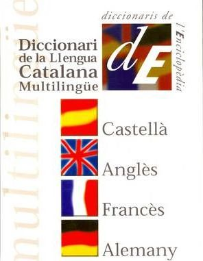 Catalan-Spanish-English-French-German Multilingual Dictionary