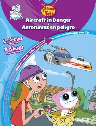 Phineas y Ferb. Aeronaves en peligro, nivel avanzado = Phineas and Ferb. Aircraft in danger, advanced level