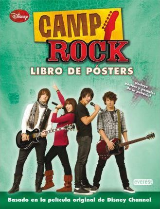 Camp Rock. Libro de pósters