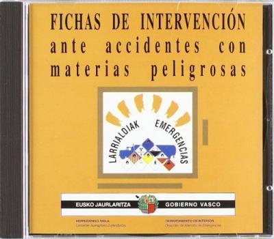 (cd-Rom) 2001 - Fichas De Intervencion Ante Accidentes Con Materias