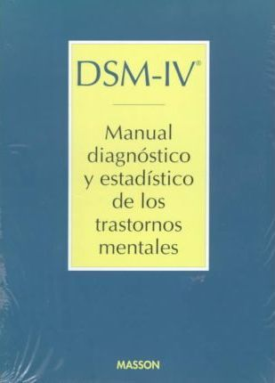 Dsm-IV Manual Diagnostico y Estadistico de Trastor