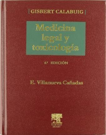 Medicina legal y toxicología