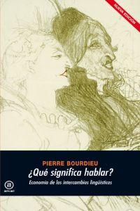 Que significa hablar? / What Does Talk Mean?