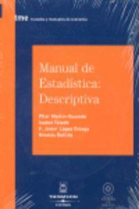 Manual de estadística : descriptiva