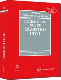 Legislación sobre Registro Civil