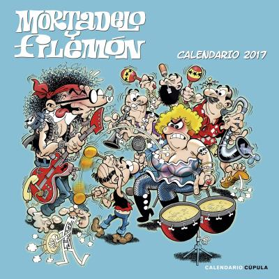 Calendario Mortadelo y Filemón 2017