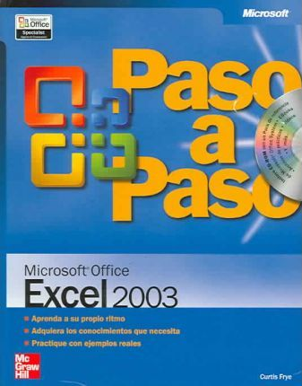 Paso a paso Microsoft Excel 2003/Microsoft Office Excel 2003 Step by Step