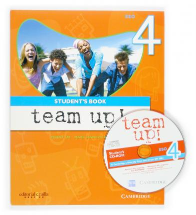 Team Up Level 4 Student's Book Catalan Edition