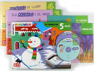 Connecta 2.0, Coloraines, 5 anys. 2n trimestre