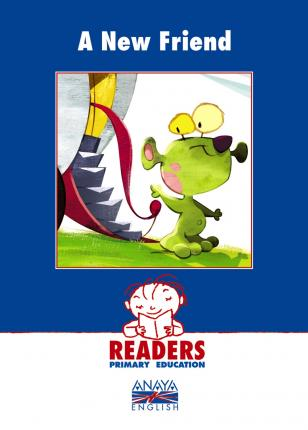 Readers, a new friend, Educación Primaria, 2 ciclo