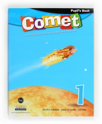 Comet. 1 Primary. Pupil's book. Andalucía