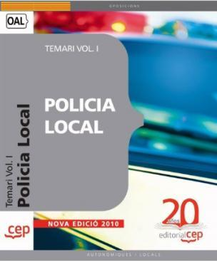 Policia Local. Temari Vol. I.