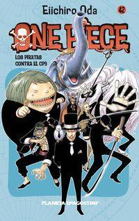 One Piece 42, Los piratas contra el CPS Cover Image