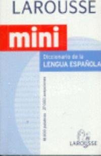 Diccionario Mini Lengua Espanola/ Spanish Language Mini Dictionary