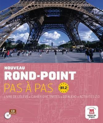 Rond-Point pas a pas : Livre de l'eleve + Cahier d'activites + CD (Level