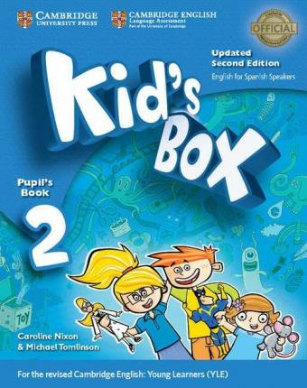 Kid's Box Level 2 Pupil's Book with My Home Booklet Updated English for Spanish Speakers