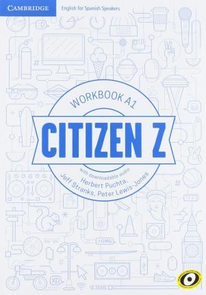 Citizen Z A1 Workbook with Downloadable Audio