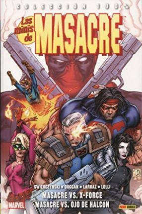 Las minis de Masacre 5. DeadPool vs X-Force / vs Ojo de Halcón
