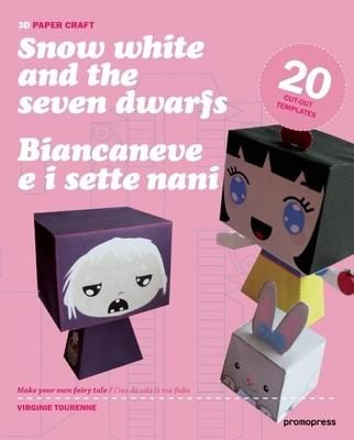 3D Papercraft: Snow White and the Seven Dwarfs