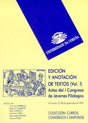 Edicion y anotacion de textos/ Editions and text annotation Cover Image
