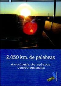 2,050 km de palabras/ 2,050 km of Words Cover Image