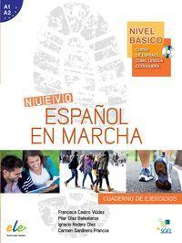 Espanol En Marcha Basico Exercises Book + CD A1+A2