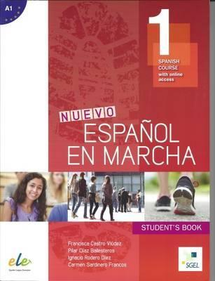 Nuevo Espanol en Marcha 1: Student Book for English Speakers : Spanish Course with Free Online Access