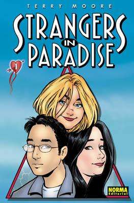 Strangers in Paradise 1 Cover Image