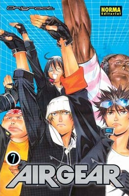 Air Gear 7 Cover Image